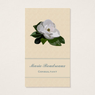 Magnolia Flower Business Business Card