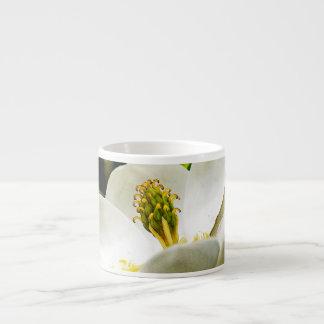 Magnolia Flower Close Up Espresso Cup