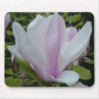 magnolia flower mouse pad