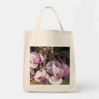 Magnolia flowers, by Janie Chambers Tote Bag