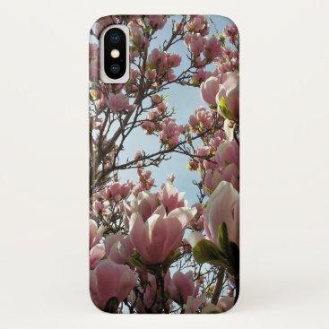 Magnolia Flowers iPhone XS Case