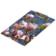 Magnolia Flowers Clipboard