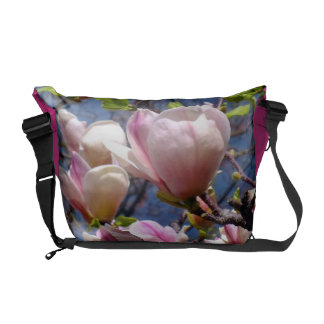 Magnolia Flowers Messenger Bag