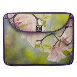 Magnolia Flowers Sleeve For MacBooks