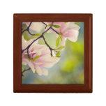 Magnolia Flowers Trinket Box