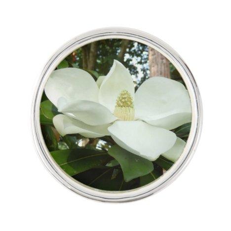 Magnolia Grandiflora Lapel Pin