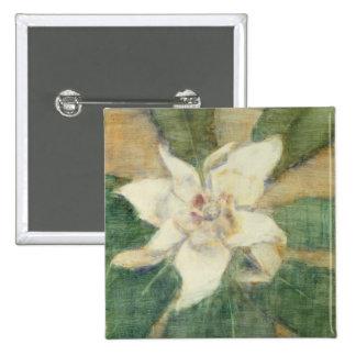 Magnolia Grandiflora Pinback Button