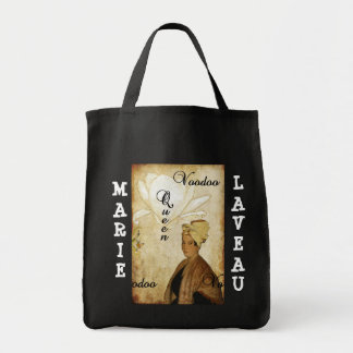 Magnolia Grunge Voodoo Queen Marie Laveau Tote Bag