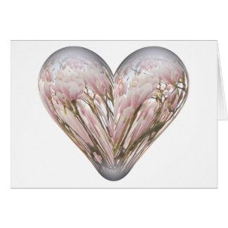 magnolia heart card
