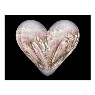 magnolia heart postcard
