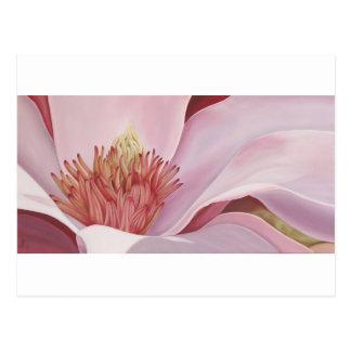 Magnolia hermosa - tarjeta del arte postal