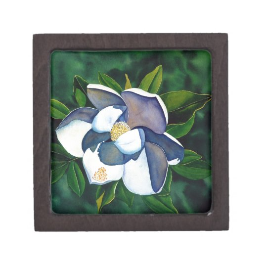 Magnolia Jewelry Box