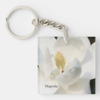 Magnolia Key Chain