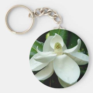 Magnolia Keychain