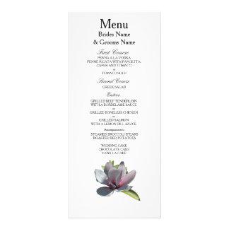 Magnolia Modern Simple Elegant WeddingIdeas Rack Card