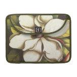 magnolia moderna del vintage fundas macbook pro