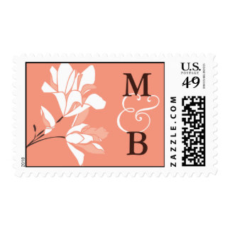 Magnolia Monogram Postage