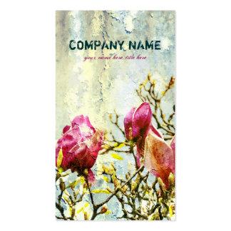 Magnolia oxidada - tarjeta de visita