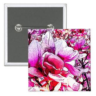 Magnolia Pin Cuadrada 5 Cm