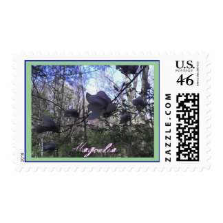 Magnolia Postage Stamps