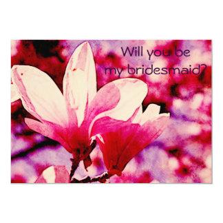 Magnolia púrpura y rosada vibrante anuncios personalizados