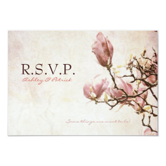 Magnolia romántica RSVP del vintage
