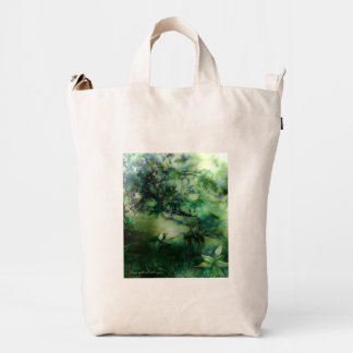 Magnolia Shade canvas bag