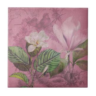 Magnolia Song Ceramic Tile