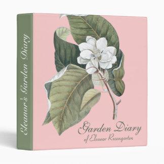 Magnolia Southern Gardener's Elegant Notebook Binder