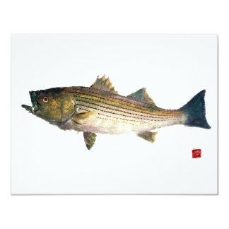 Magnolia Striped Bass Card