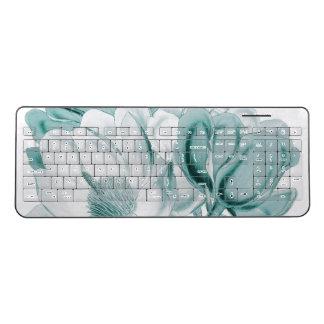 magnolia teal wireless keyboard