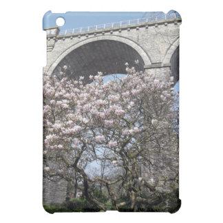 Magnolia Tree blooms by viaduct iPad Mini Cases