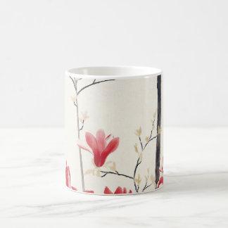 Magnolia Tree by Kobayashi Kokei, Vintage Nature Coffee Mug