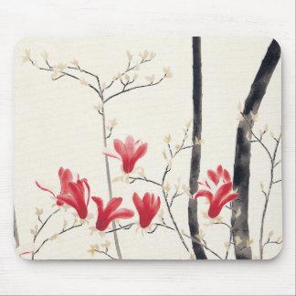 Magnolia Tree by Kobayashi Kokei, Vintage Nature Mouse Pad