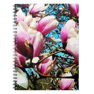Magnolia Tree Closeup Spiral Notebook