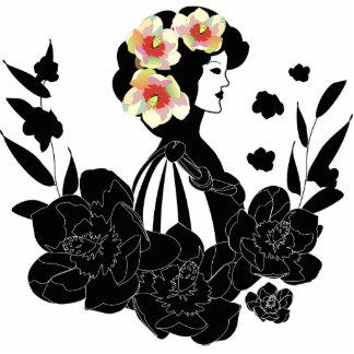 Magnolia veneciana del estilo escultura fotográfica
