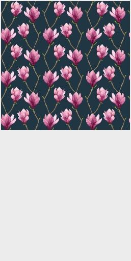 Magnolia Watercolor Floral Pattern