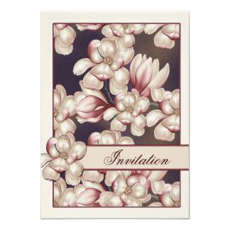 Magnolia Wedding Card