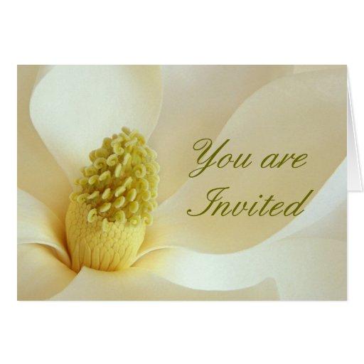 MAGNOLIA Wedding Coordinate Wedding Invitation Cards