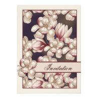 Magnolia Wedding Custom Invites