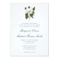 Magnolia Wedding Invitation