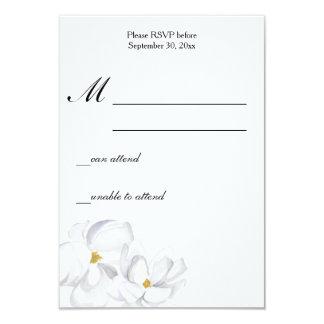 Magnolia Wedding RSVP Card