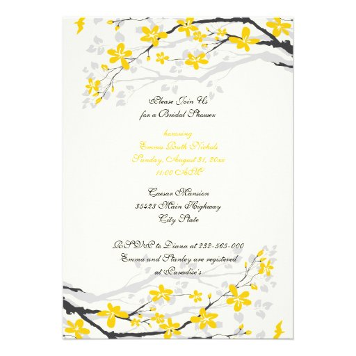 Ivory Wedding Invitations with nice invitation layout