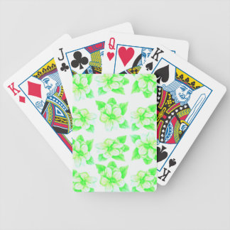 Magnolias Bicycle Playing Cards