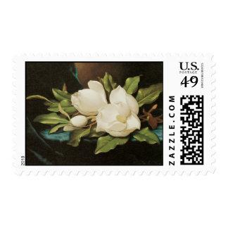 Magnolias del gigante de Heade Sellos Postales