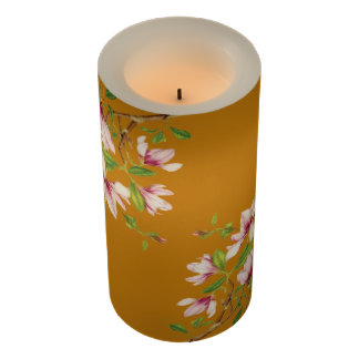 Magnolias Flameless Candle