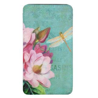 Magnolias floral Original art Smartphone Pouch