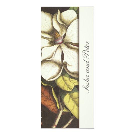 Magnolias Floral Wedding Invitation