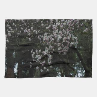 Magnolias Forever Hand Towel