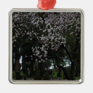 Magnolias Forever Metal Ornament